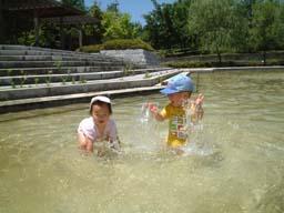 山梨 水遊び